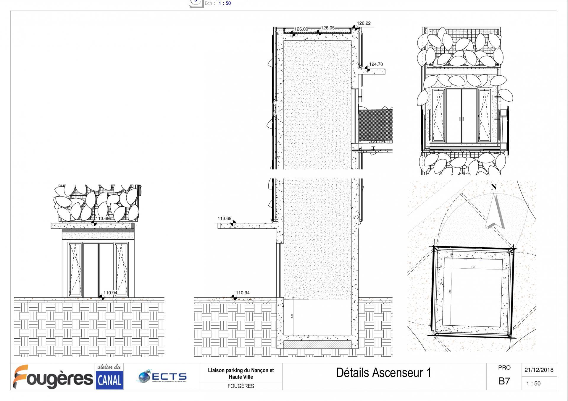 Adc fop pro b7 details ascenseur 1