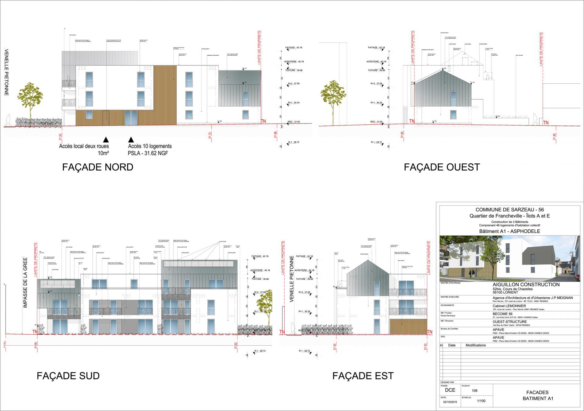 Sarz dce a1 108 facades