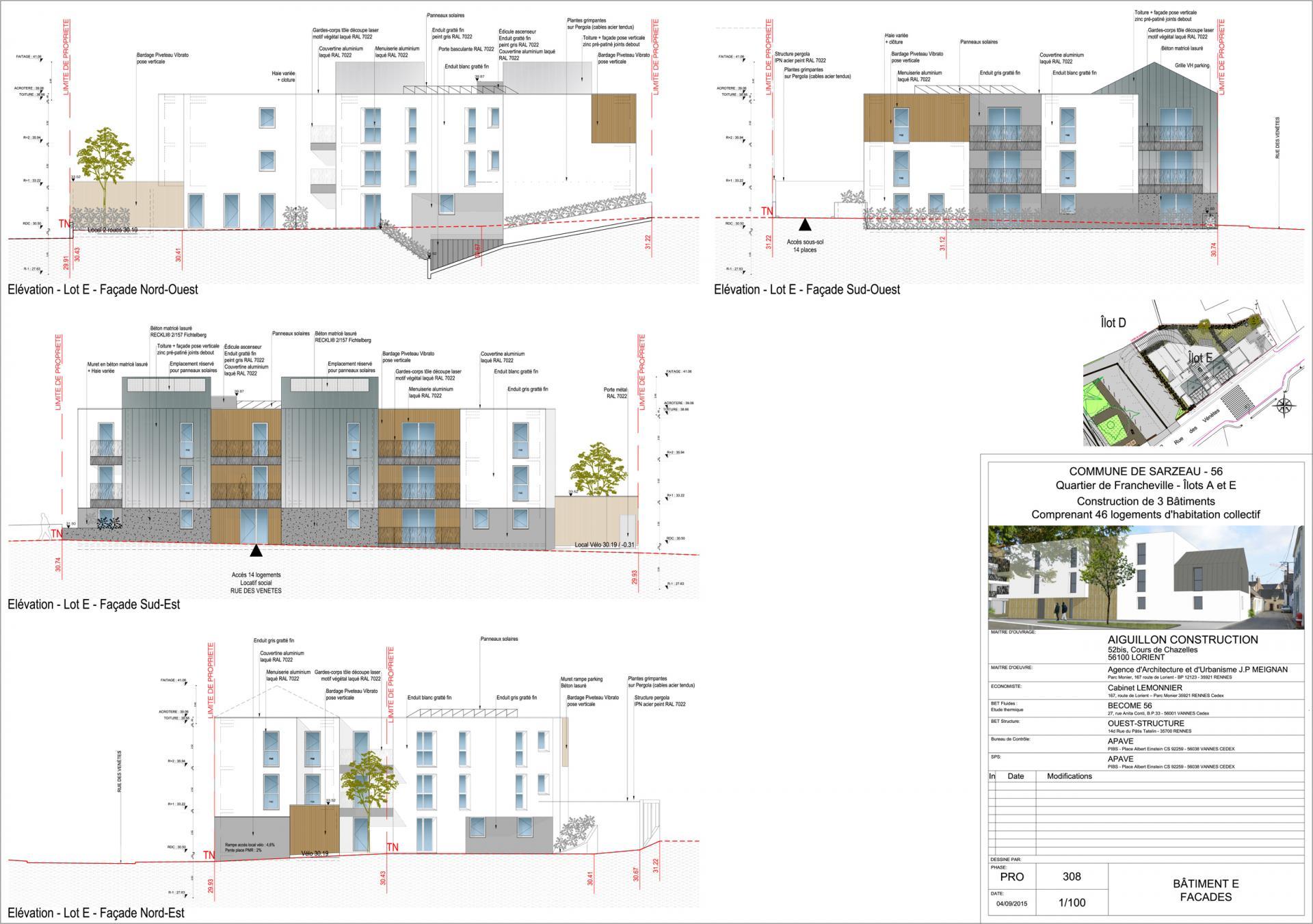 Sarz pro e 308 facades